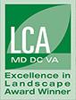 LCA MD DC VA Excellence in Landscape Award Winner logo