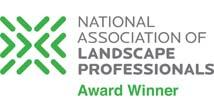 National Association of Landscape Professionals Award Winner logo